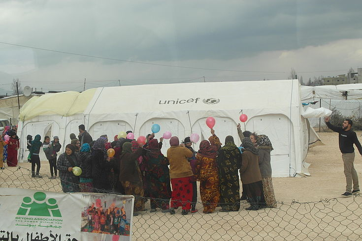 Refugee Camp Bekaa / Lebanon