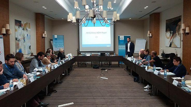 Conference prelude at Hotel Al Qasr in Amman
