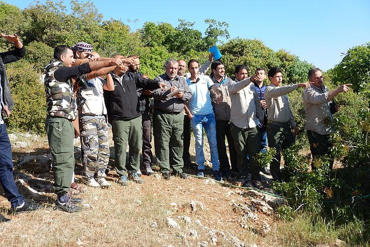 Field trip Ajloun Nature Reserve